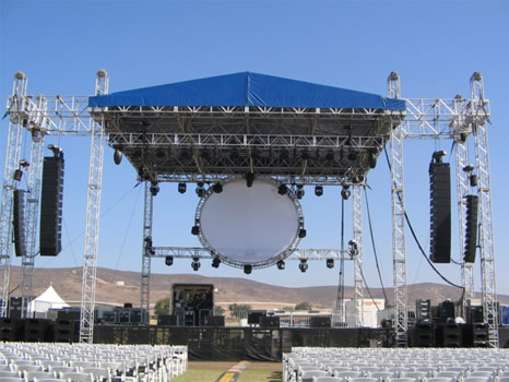 Kleege Industries Staging Mobile Staging And Rigging